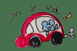 France mouse sticker #1647763