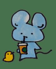 France mouse sticker #1647764