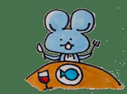 France mouse sticker #1647772