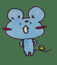 France mouse sticker #1647775
