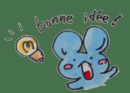 France mouse sticker #1647776