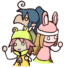 Torisuke and his merry friends