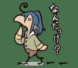 Torisuke and his merry friends sticker #1650650