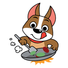 Diggity Dog - Walk Me, Feed Me sticker #1653584