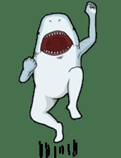 Shark men sticker #1663353