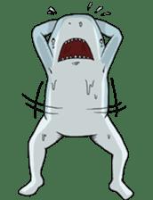 Shark men sticker #1663356