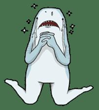 Shark men sticker #1663359