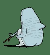 Shark men sticker #1663362