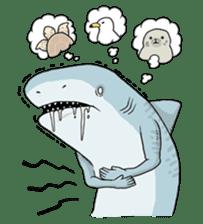 Shark men sticker #1663365