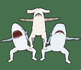 Shark men sticker #1663380