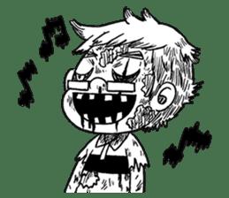 Zombie Days sticker #1669998