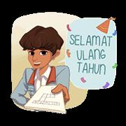 สติ๊กเกอร์ไลน์ Dilan Movie Stickers