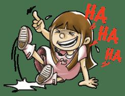 J girl  (Practical  English) sticker #1685993