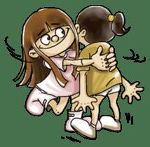 J girl  (Practical  English) sticker #1685996