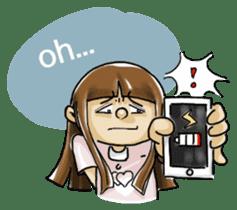J girl  (Practical  English) sticker #1686002