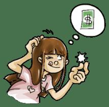 J girl  (Practical  English) sticker #1686004
