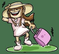 J girl  (Practical  English) sticker #1686031