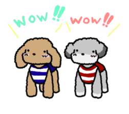 Love Poodle sticker #1686073