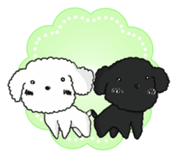 Love Poodle sticker #1686077