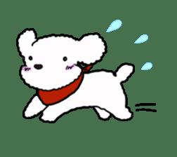 Love Poodle sticker #1686081