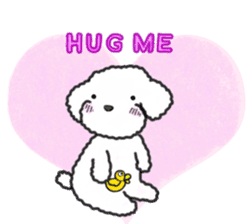 Love Poodle sticker #1686086