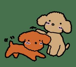 Love Poodle sticker #1686087