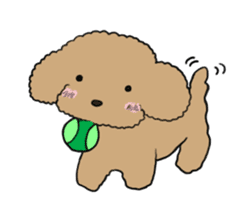 Love Poodle sticker #1686088