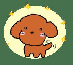 Love Poodle sticker #1686089
