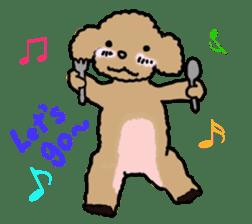 Love Poodle sticker #1686092