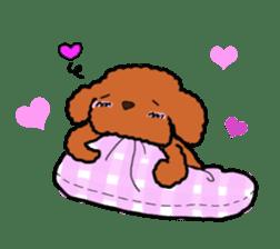 Love Poodle sticker #1686093