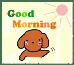 Love Poodle sticker #1686094