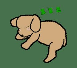 Love Poodle sticker #1686096