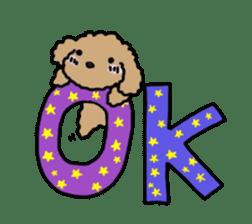 Love Poodle sticker #1686098
