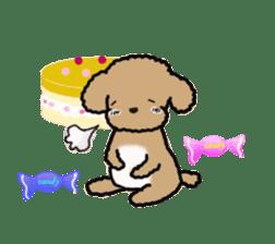 Love Poodle sticker #1686101