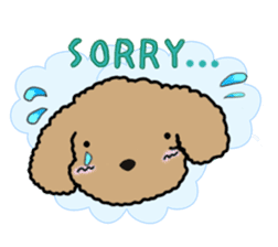 Love Poodle sticker #1686106