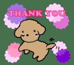 Love Poodle sticker #1686109