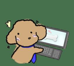 Love Poodle sticker #1686111