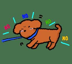 Love Poodle sticker #1686112