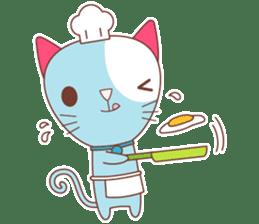 BISCUIT THE BAKING CAT sticker #1686315