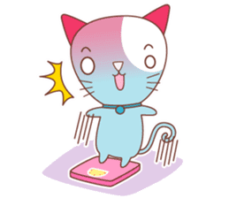 BISCUIT THE BAKING CAT sticker #1686344