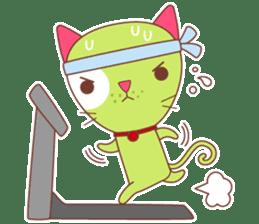 BISCUIT THE BAKING CAT sticker #1686345