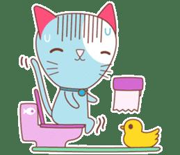 BISCUIT THE BAKING CAT sticker #1686347