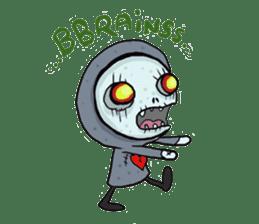 SkullGnome the Cute Grim Reaper sticker #1689582