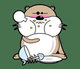 Kotsuro of Otter sticker #1690238
