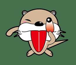 Kotsuro of Otter sticker #1690244