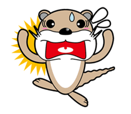 Kotsuro of Otter sticker #1690249