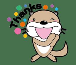 Kotsuro of Otter sticker #1690267