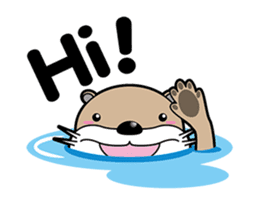 Kotsuro of Otter sticker #1690271