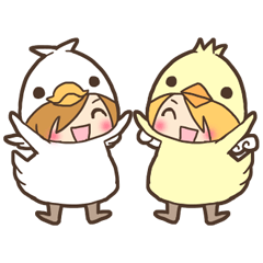 Duck-kun and Chick-kun