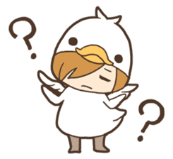 Duck-kun and Chick-kun sticker #1694615